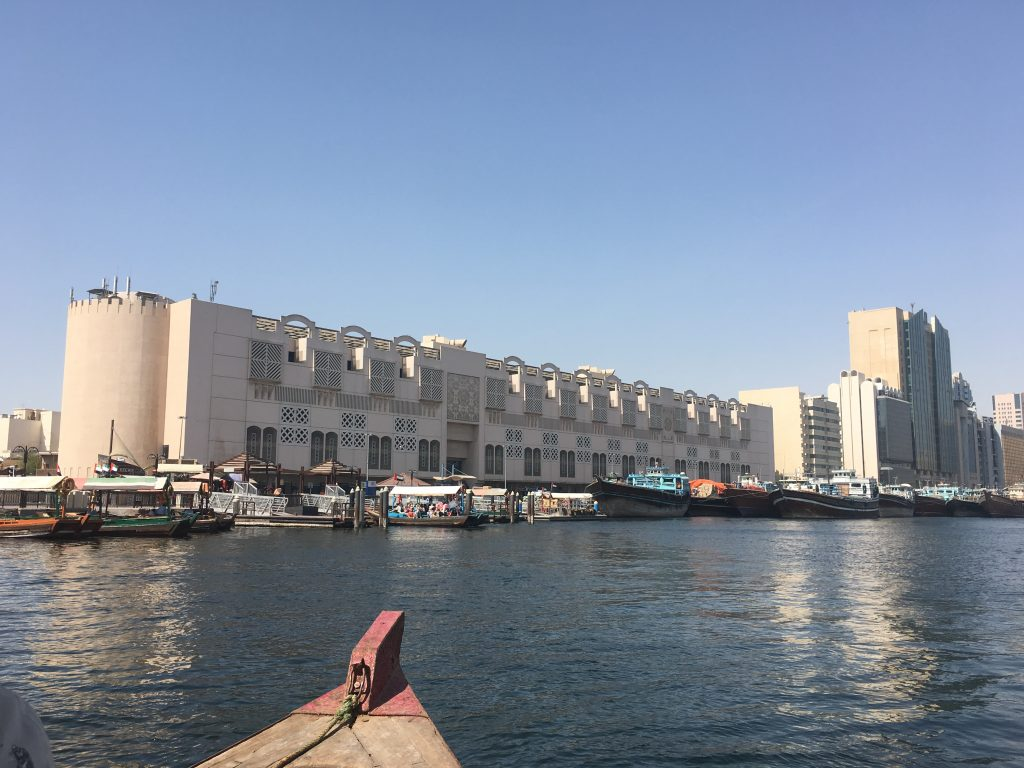 Dubai Old Town abra ride