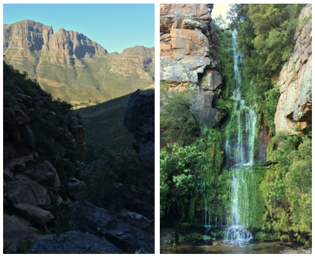 Cederberg Mountains waterfall