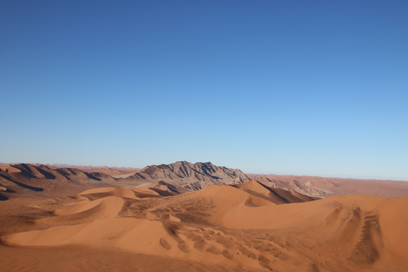 Red star dunes