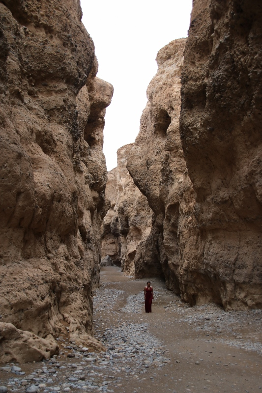 Sesriem Canyon bed