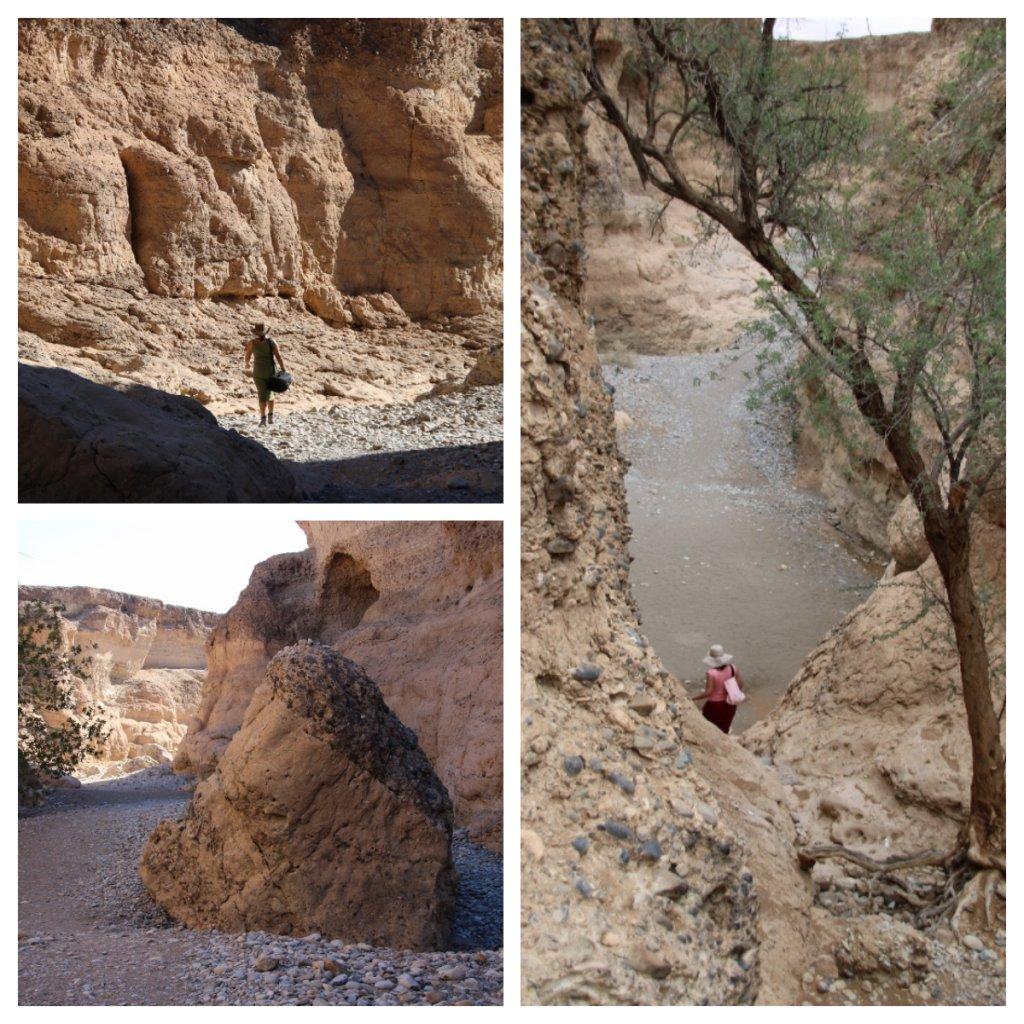 Exploring Sesriem Canyon