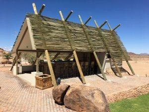 Outdoor Bar at Desert Quiver Camp