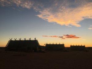Sunset at Desert Quiver