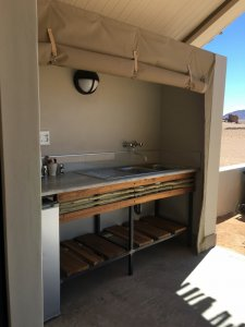 Unit Outdoor Kitchenette