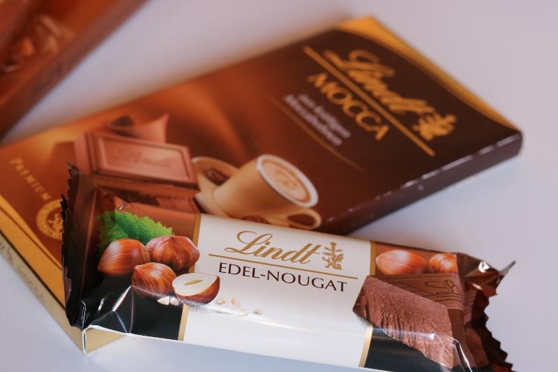 Lindt chocolate varieties
