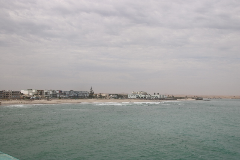 View of city from the jetty
