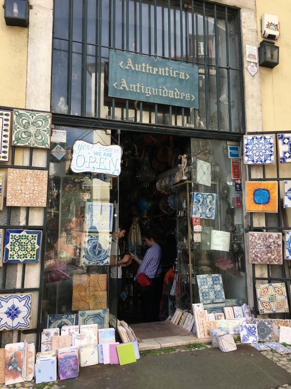 Azulejos tiles Lisbon