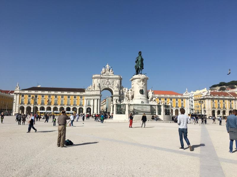 Main square Lisbon