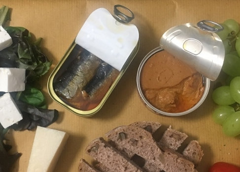 Canned Food: Portugese Sardines