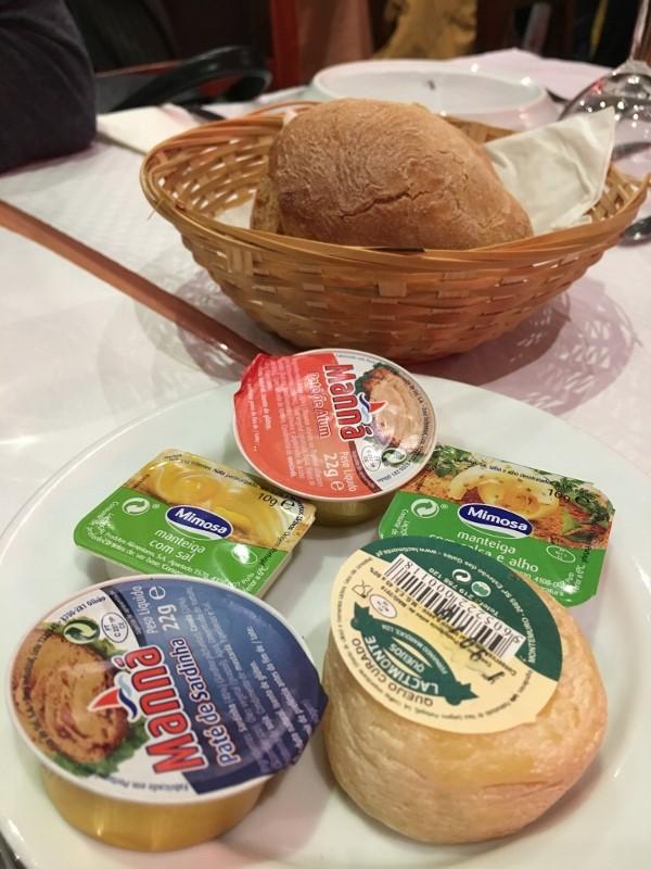 Food: Lisbon bread baskets