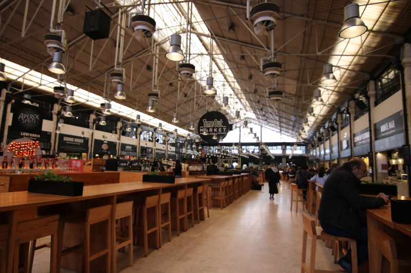 Time Out Food market view