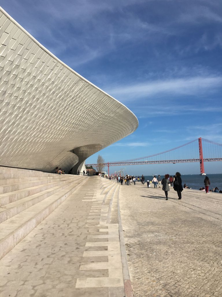 View of Belem Museum of Art, Architecture and Technology