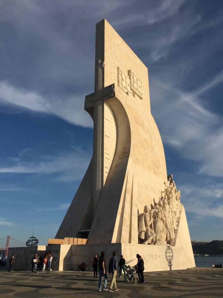 Padrão dos Descobrimentos monument in Belem