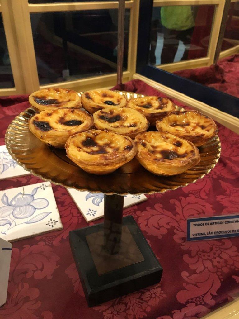 Belem's famous custard tarts