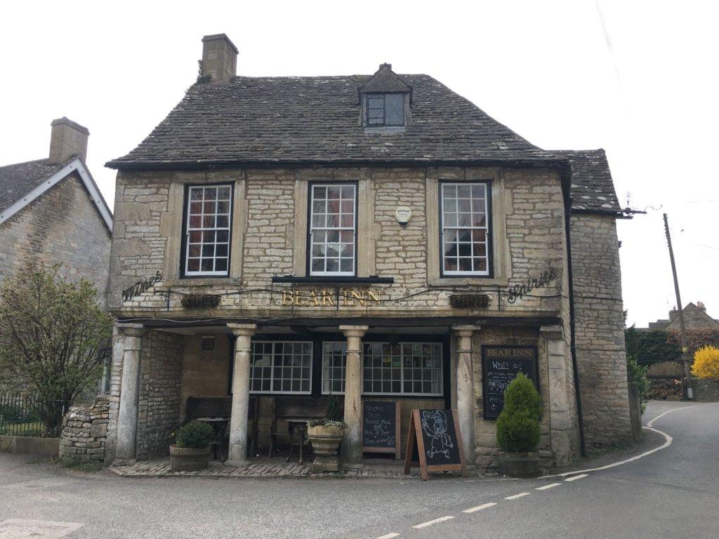 Bisley Bear Inn, Bisley parish